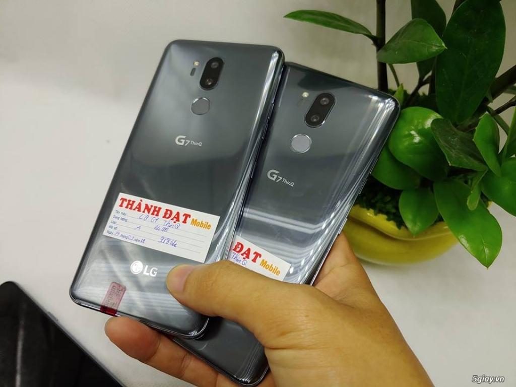 LG G7 thinQ hàng nhập khẩu likenew 99% cam kết nguyên zin bao đẹp - 3
