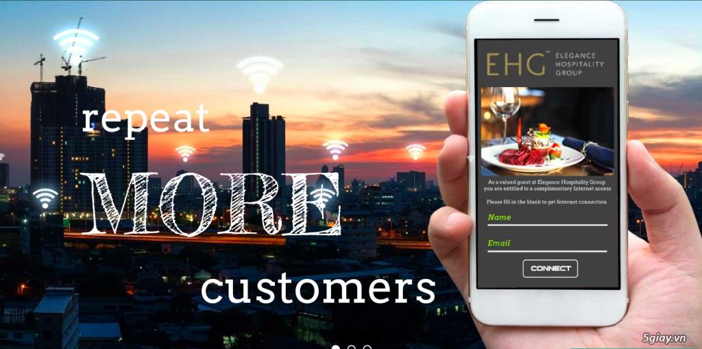 Tigeret Wifi Marketing Services - Mang khách hàng quay lại với bạn!! - 1