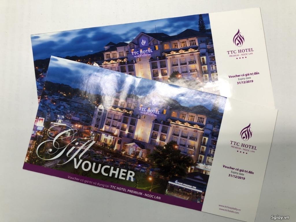 Voucher KS TTC Hotel Premium Ngọc Lan Đà Lạt