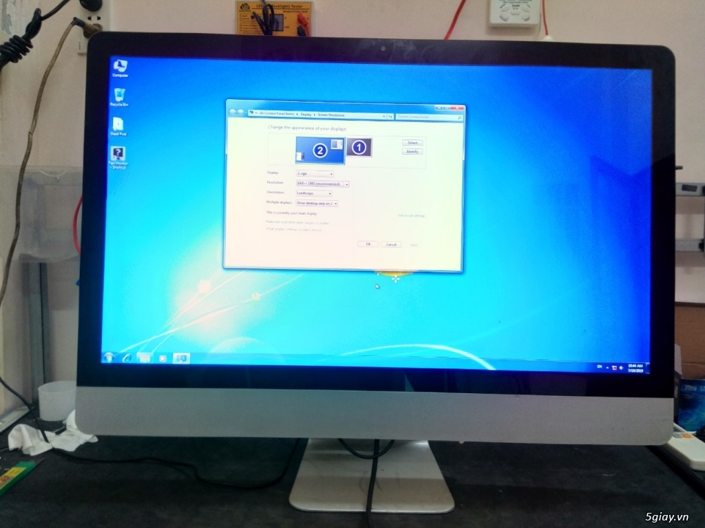 Màn hình LCD  LED 465 Lê Đại Hành bảo hành 36 tháng - 14
