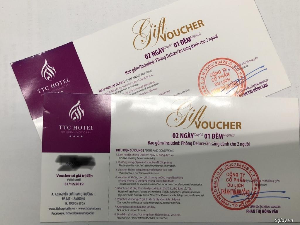 Voucher KS TTC Hotel Premium Ngọc Lan Đà Lạt - 1