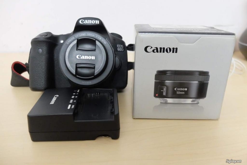 Canon 60D + lens fit 50mm 1.8 STM - 6