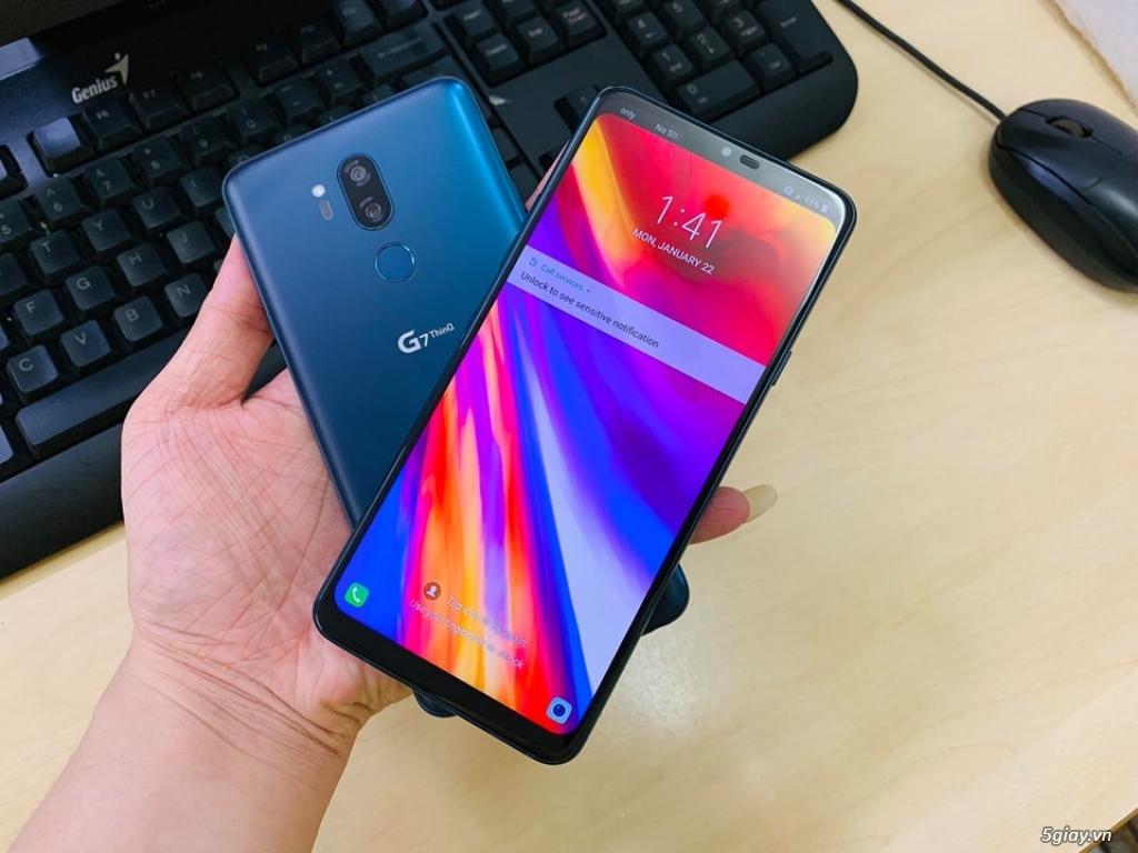 LG G7 thinQ hàng nhập khẩu likenew 99% cam kết nguyên zin bao đẹp - 2