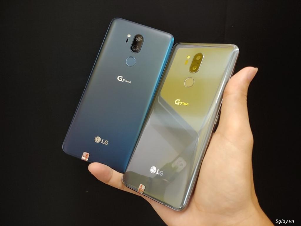 LG G7 thinQ hàng nhập khẩu likenew 99% cam kết nguyên zin bao đẹp - 1