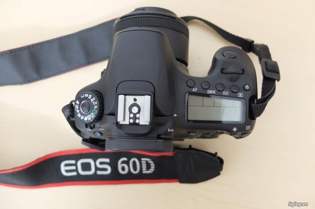 Canon 60D + lens fit 50mm 1.8 STM