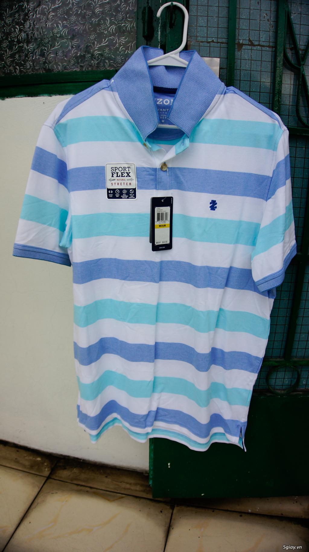 Bán 1 áo thun Izod hàng từ US giá <= 1/2!