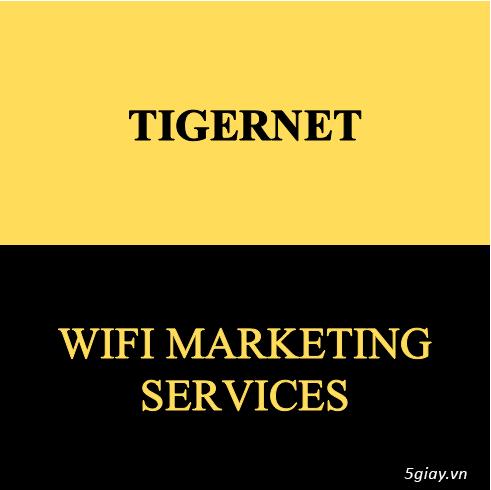 Tigeret Wifi Marketing Services - Mang khách hàng quay lại với bạn!!