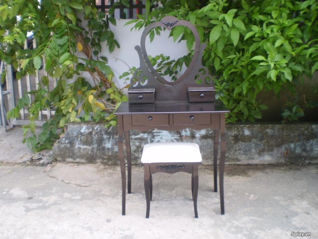 Thanh lý set nội thất xuất khẩu gỗ tự nhiên - 4