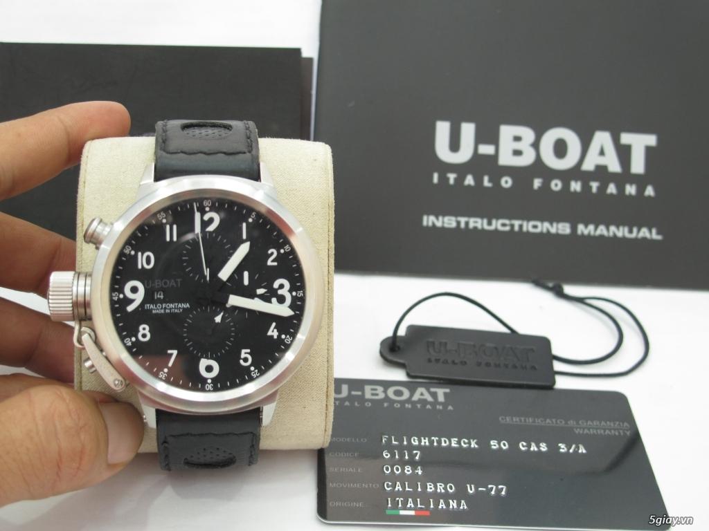 Đồng hồ U-Boat nam Chronograph Fullbox giá tốt