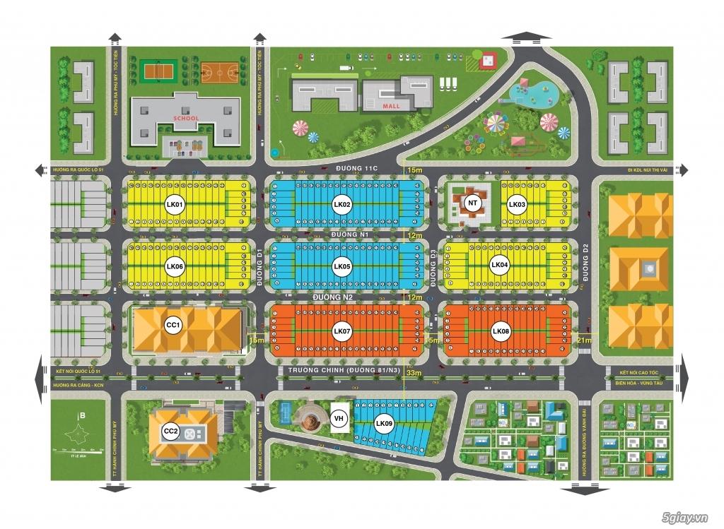 Cần Bán Lô Đất Nền TT Tx Phú Mỹ LK02-19 Giá Cả Phải chăng 1 Căn Duy 1 - 1