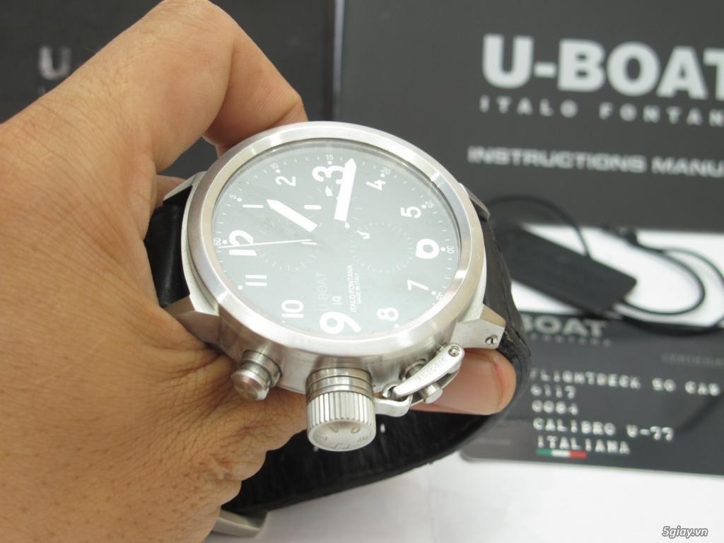 Đồng hồ U-Boat nam Chronograph Fullbox giá tốt - 3
