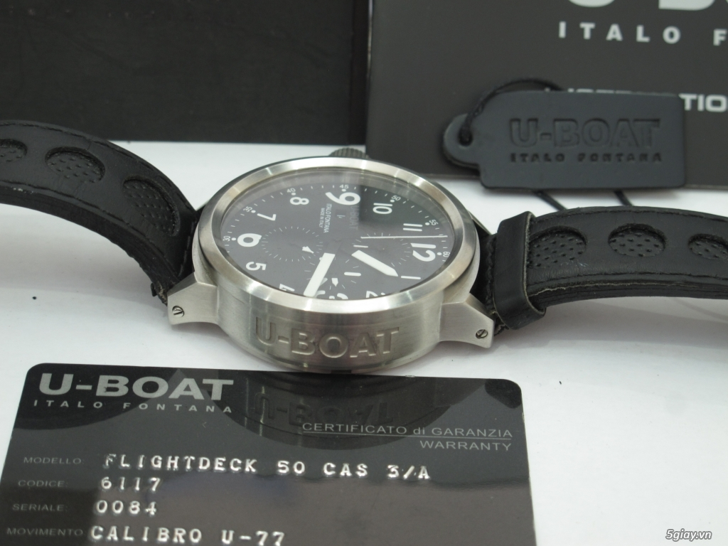 Đồng hồ U-Boat nam Chronograph Fullbox giá tốt - 12
