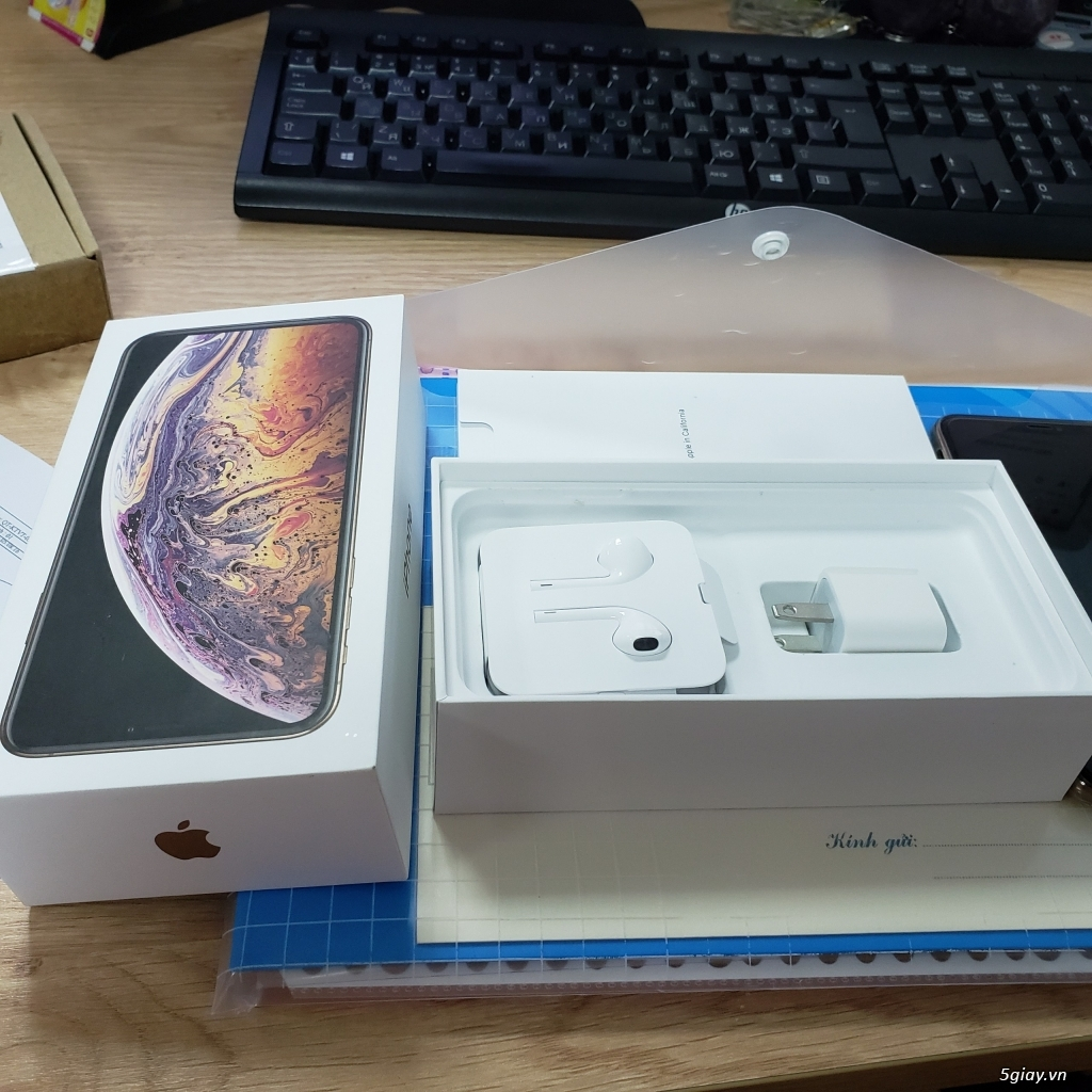 IPHONE XS MAX 64GB, VÀNG KIM, HÀNG NHẬP KHẨU, MỚI DÙNG 2 THÁNG - 2