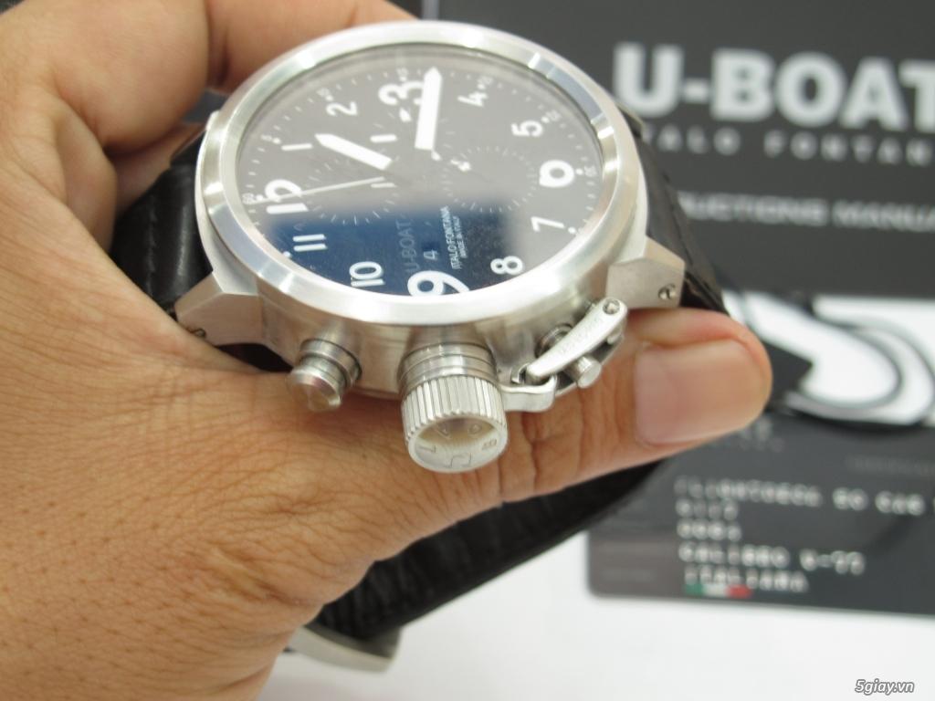 Đồng hồ U-Boat nam Chronograph Fullbox giá tốt - 5
