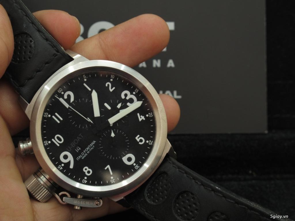 Đồng hồ U-Boat nam Chronograph Fullbox giá tốt - 18