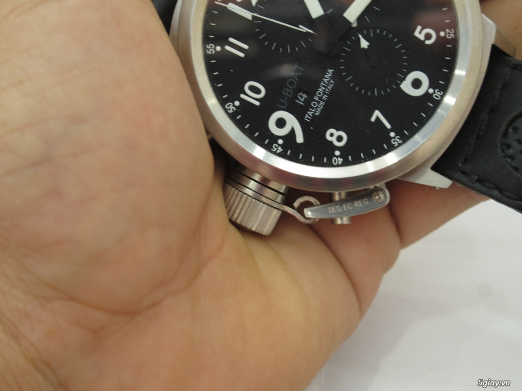 Đồng hồ U-Boat nam Chronograph Fullbox giá tốt - 17
