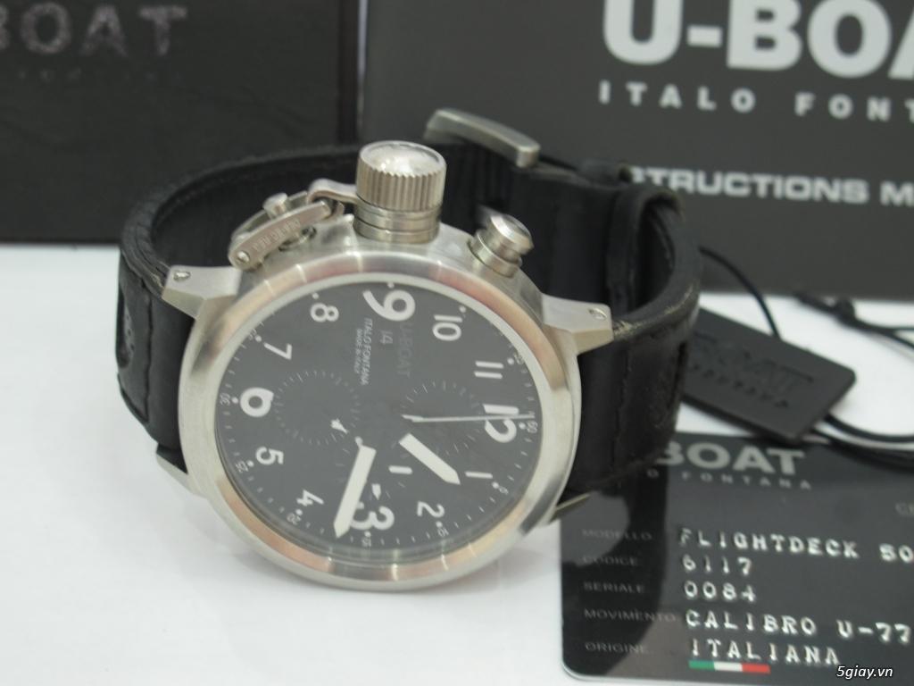 Đồng hồ U-Boat nam Chronograph Fullbox giá tốt - 1