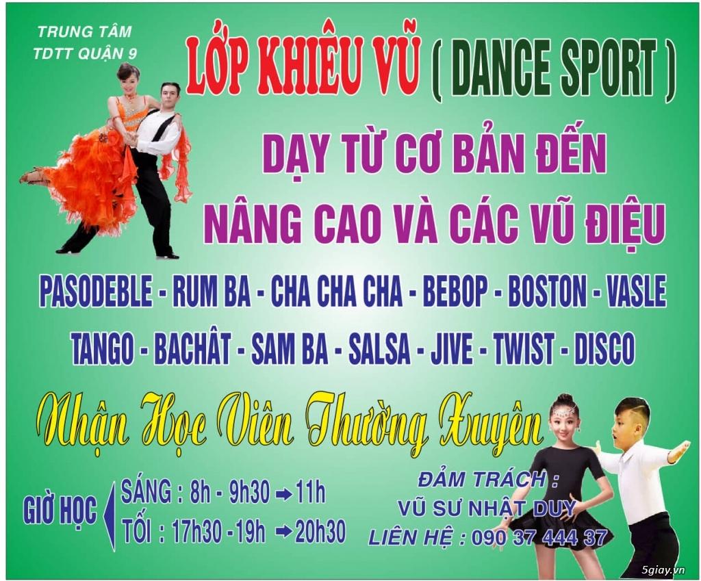 Dạy khiêu vũ quận 9 HCM
