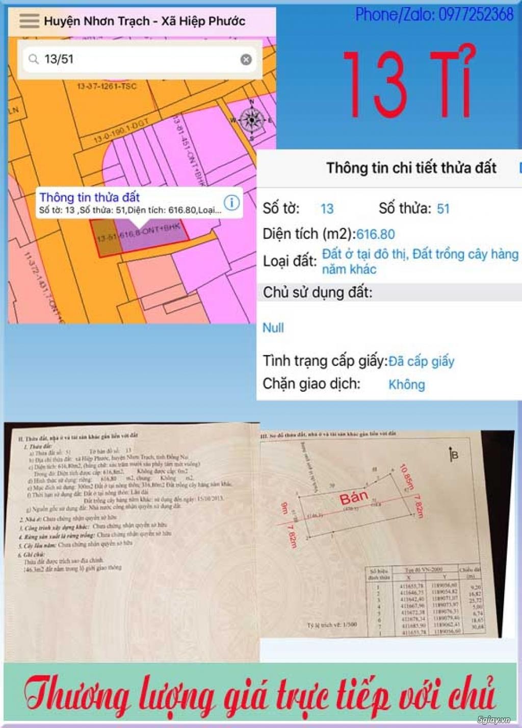 Đất Cẩm Mỹ-Long Thành-Nhơn Trạch Đồng Nai - 14