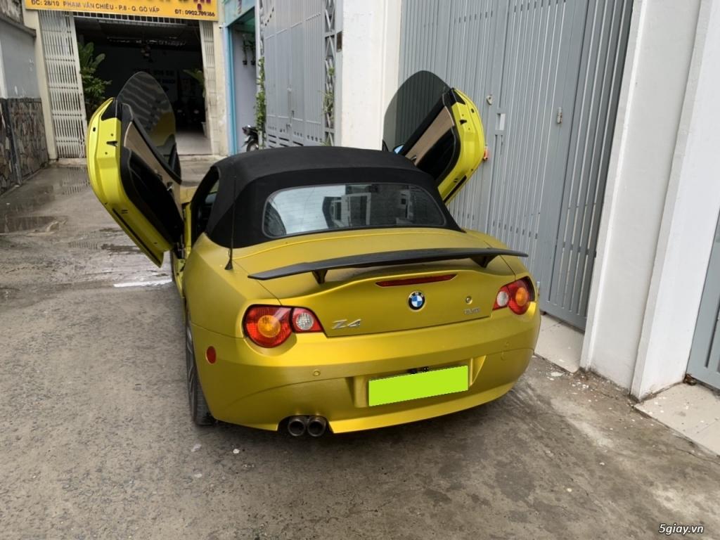 bán Bmw Z4, 2008, số sàn, mui xếp tự động, màu vàng, full option - 2