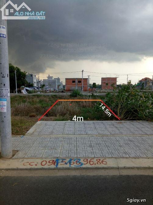 Bán đất quận 9, diện tích 70 m2, dài 17,5 m, ngang 4 m. Giá 2 tỷ 850 - 6