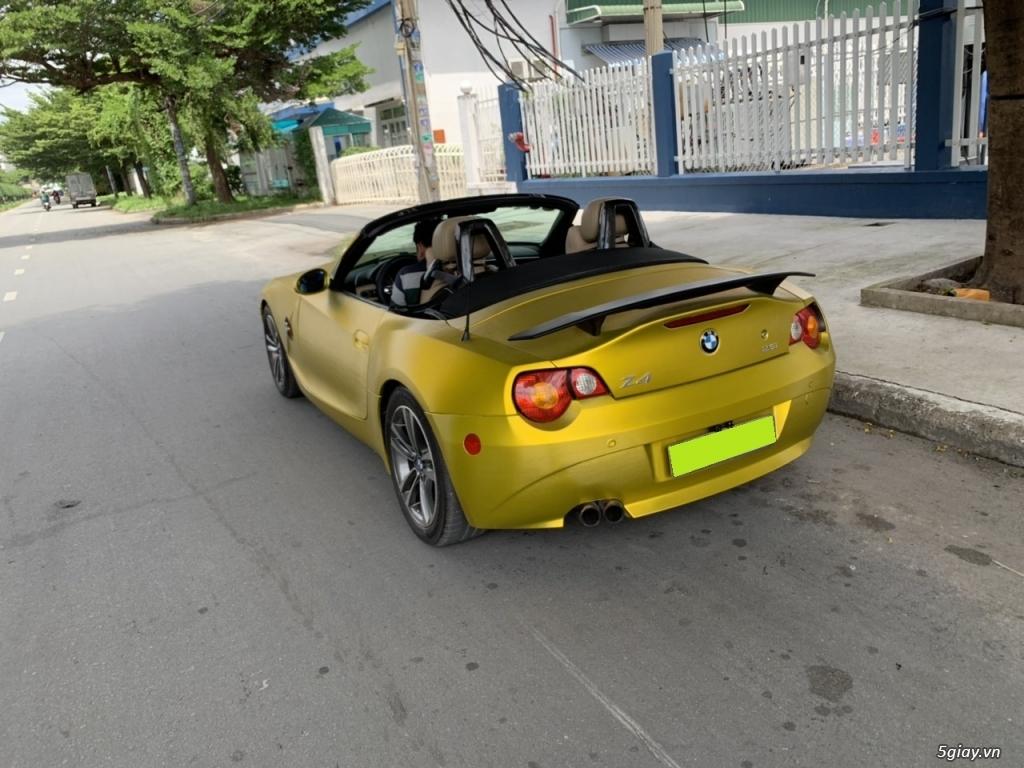 bán Bmw Z4, 2008, số sàn, mui xếp tự động, màu vàng, full option - 6