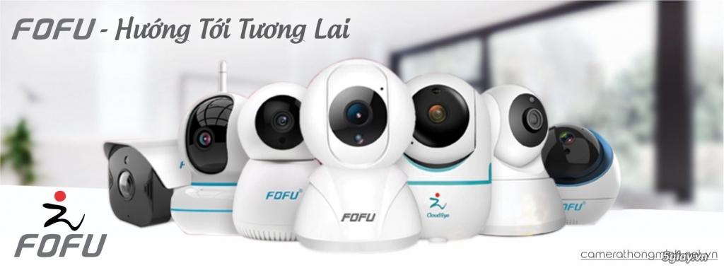Dòng Camera Thông Minh WiFi cao cấp FoFu quay 360 độ - Giá Hủy Diệt!