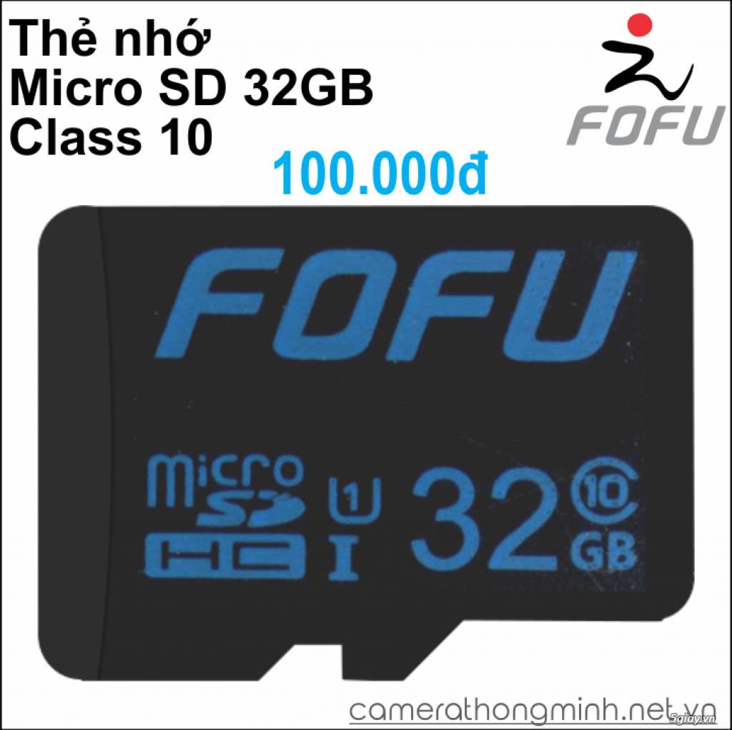 Dòng Camera Thông Minh WiFi cao cấp FoFu quay 360 độ - Giá Hủy Diệt! - 14