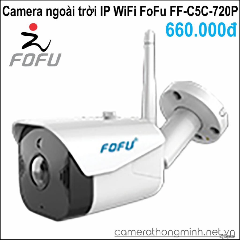 Dòng Camera Thông Minh WiFi cao cấp FoFu quay 360 độ - Giá Hủy Diệt! - 11