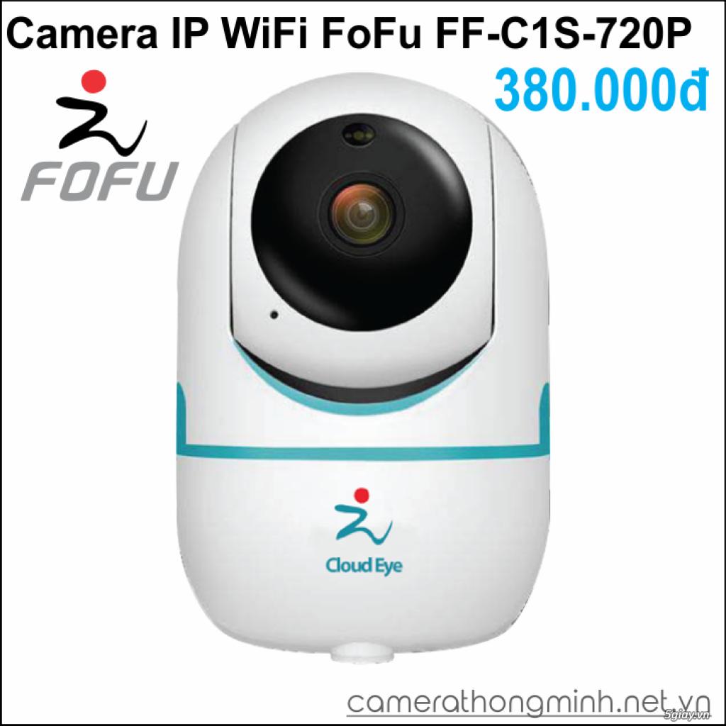 Dòng Camera Thông Minh WiFi cao cấp FoFu quay 360 độ - Giá Hủy Diệt! - 5