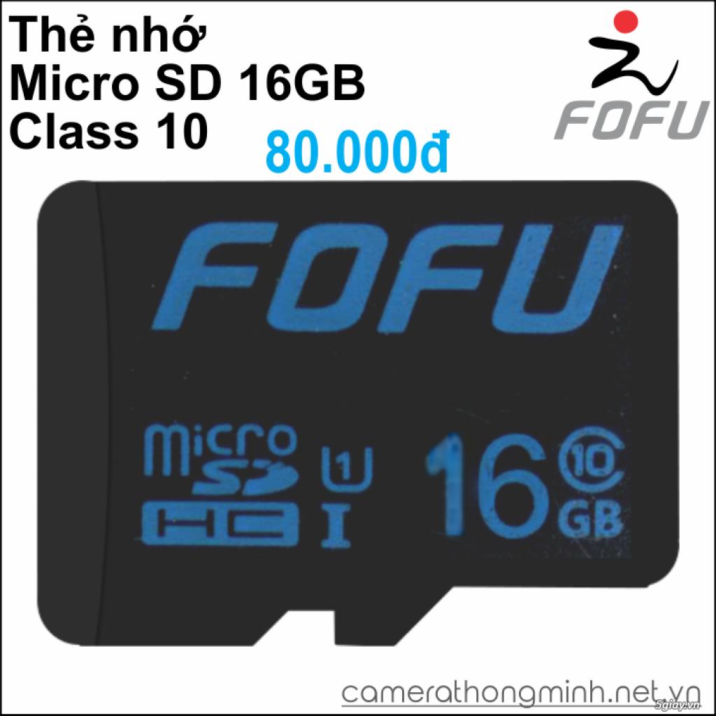 Dòng Camera Thông Minh WiFi cao cấp FoFu quay 360 độ - Giá Hủy Diệt! - 13
