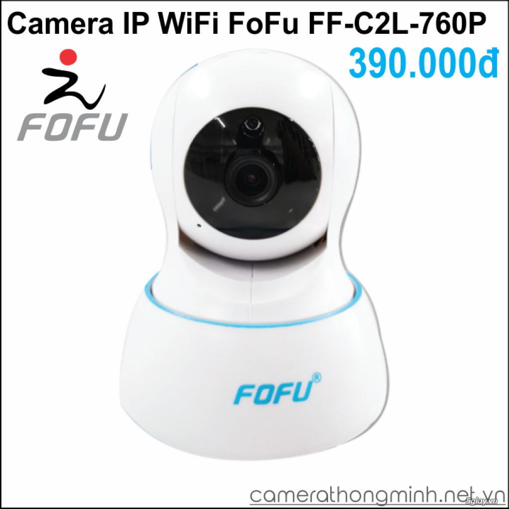 Dòng Camera Thông Minh WiFi cao cấp FoFu quay 360 độ - Giá Hủy Diệt! - 1