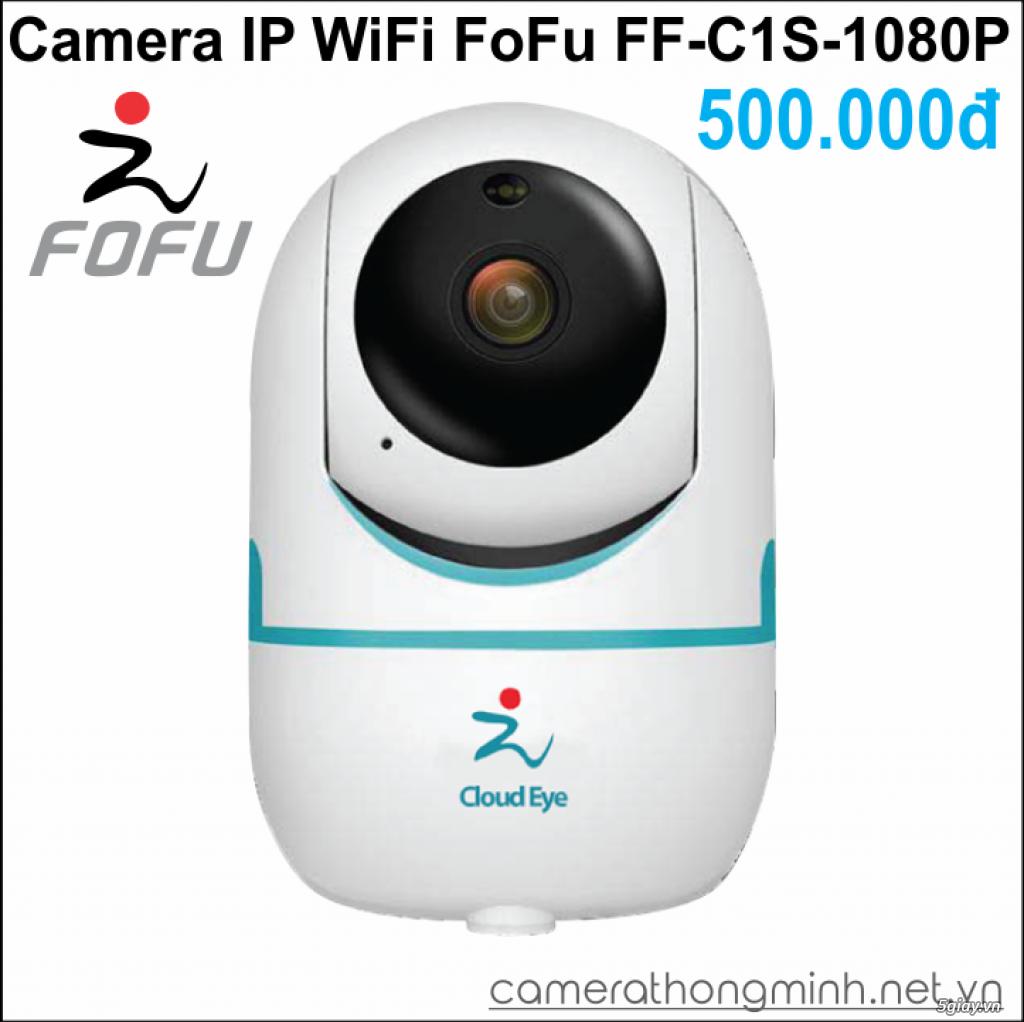 Dòng Camera Thông Minh WiFi cao cấp FoFu quay 360 độ - Giá Hủy Diệt! - 6