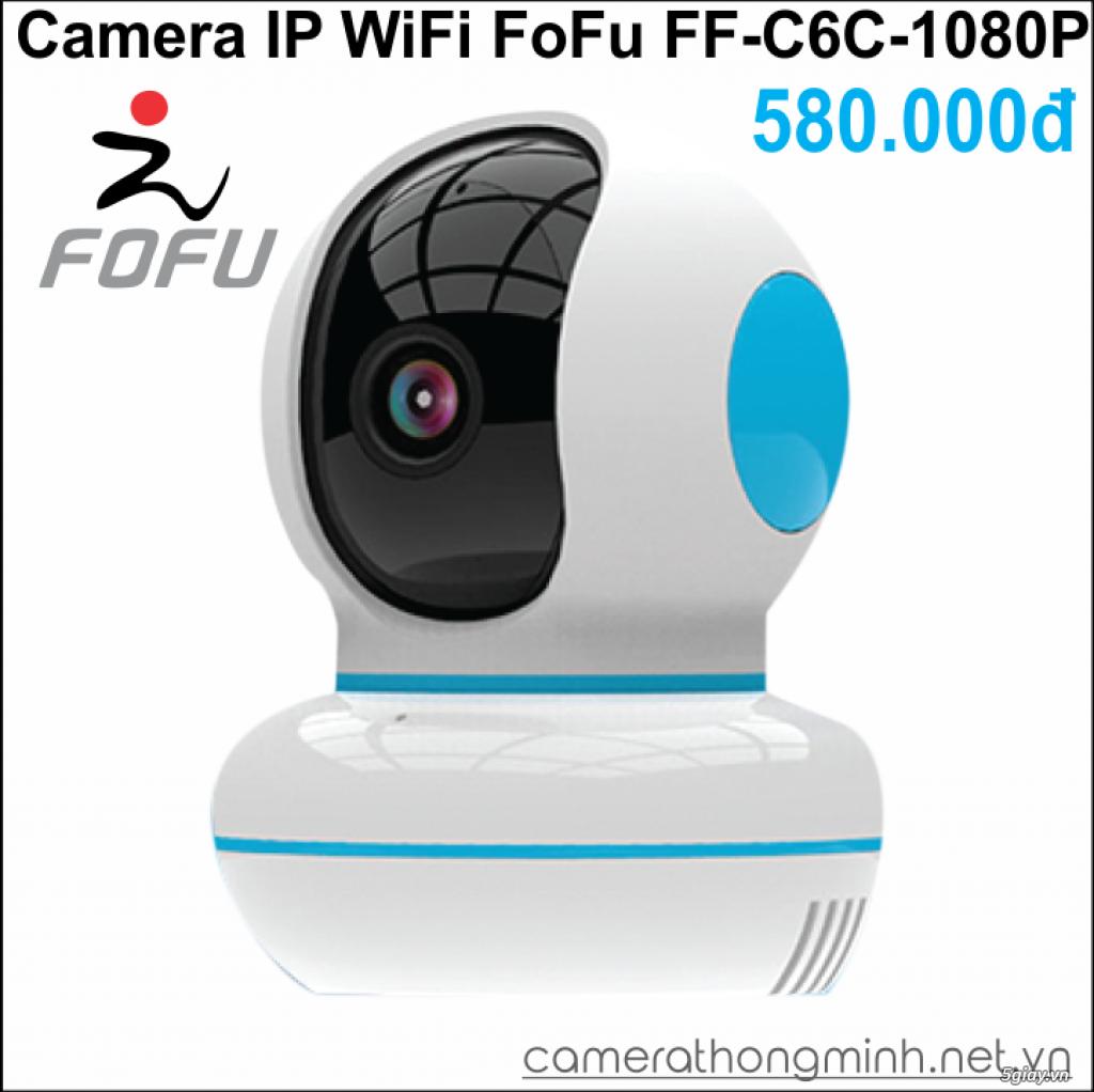 Dòng Camera Thông Minh WiFi cao cấp FoFu quay 360 độ - Giá Hủy Diệt! - 8