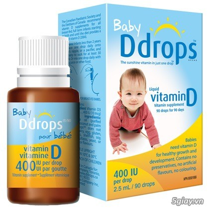 VITAMIN D3 - BABY DDROPS 90 GIỌT
