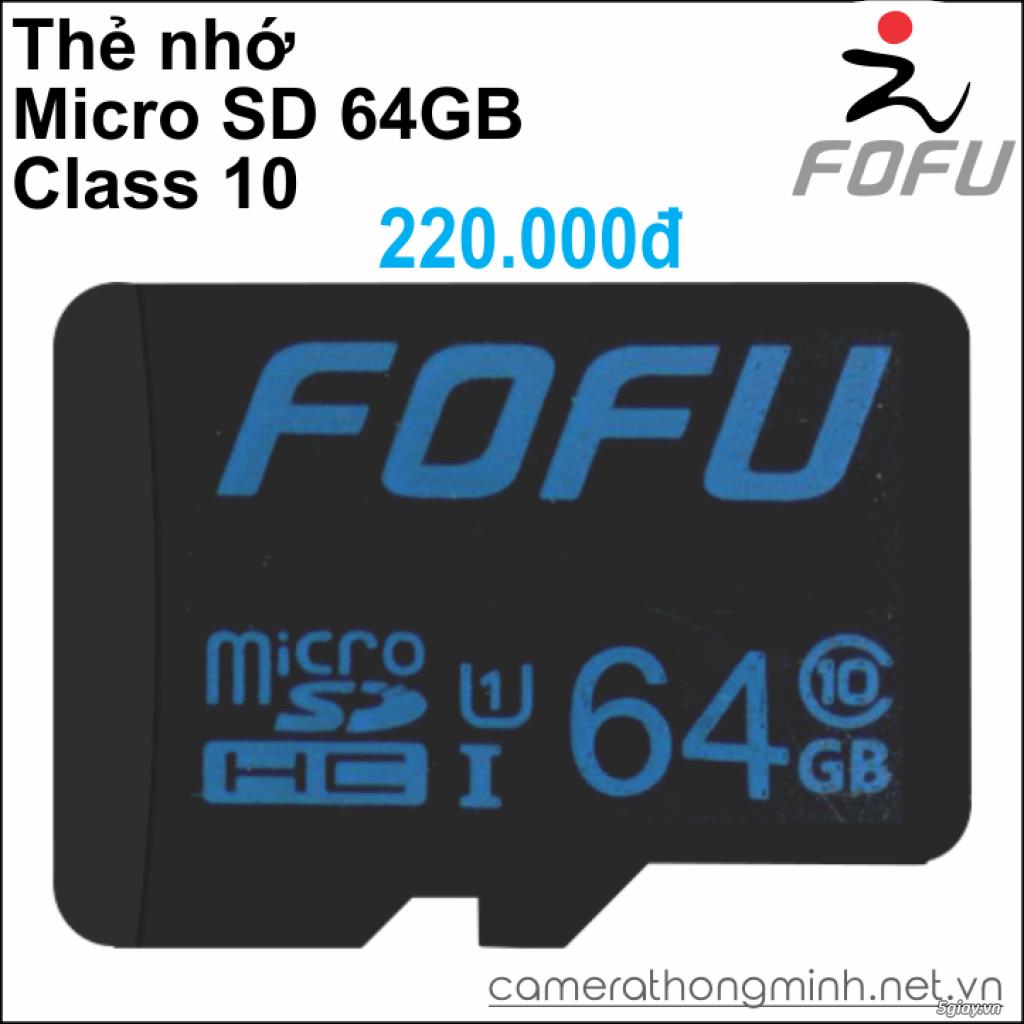Dòng Camera Thông Minh WiFi cao cấp FoFu quay 360 độ - Giá Hủy Diệt! - 15