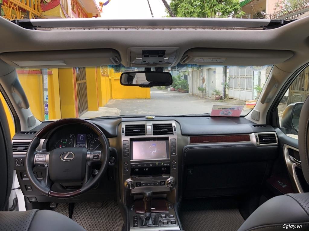 Lexus GX460 đời 2016 màu trắng Ngọc Trai bản full option