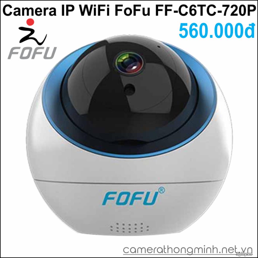 Dòng Camera Thông Minh WiFi cao cấp FoFu quay 360 độ - Giá Hủy Diệt! - 9