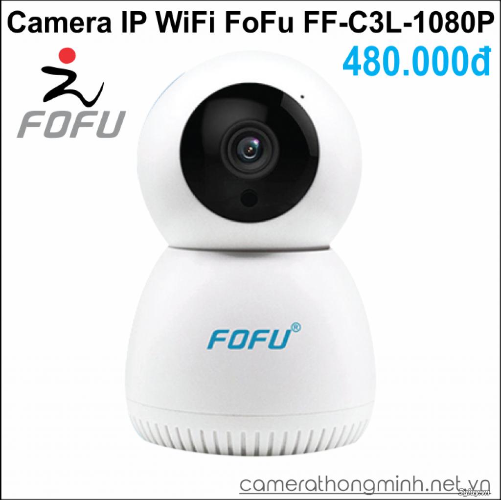 Dòng Camera Thông Minh WiFi cao cấp FoFu quay 360 độ - Giá Hủy Diệt! - 4