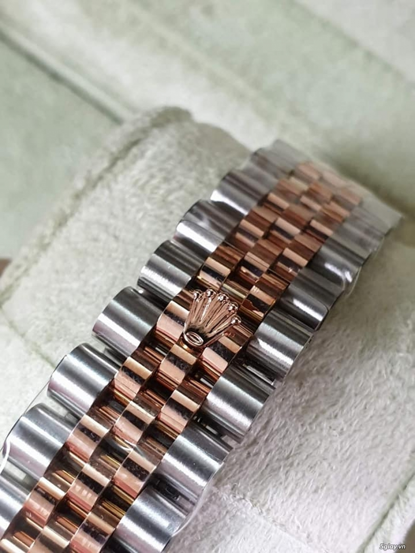 Rolex bọc vàng 18k vàng hồng xà cừ thách thức các thần soi 2019 - 7