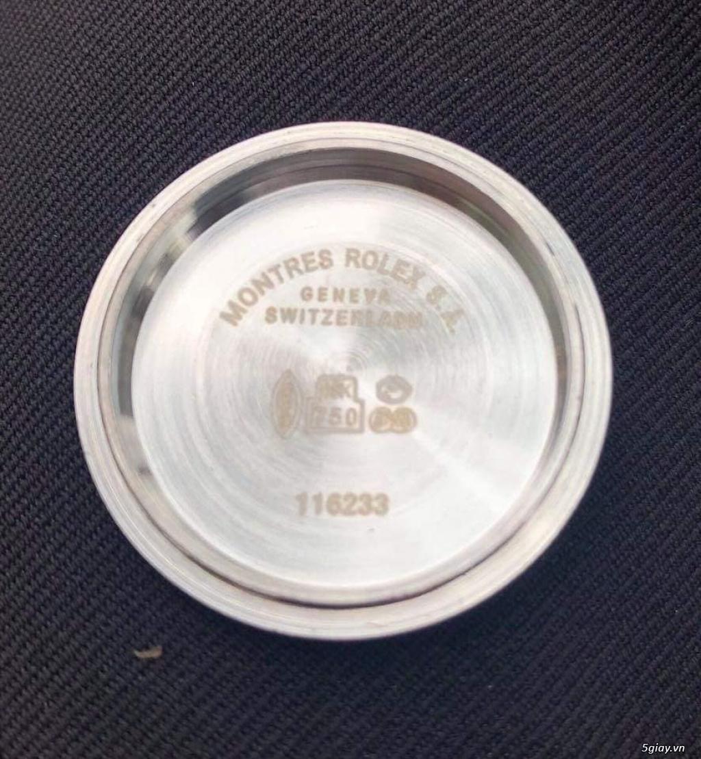 Rolex bọc vàng 18k vàng hồng xà cừ thách thức các thần soi 2019 - 6