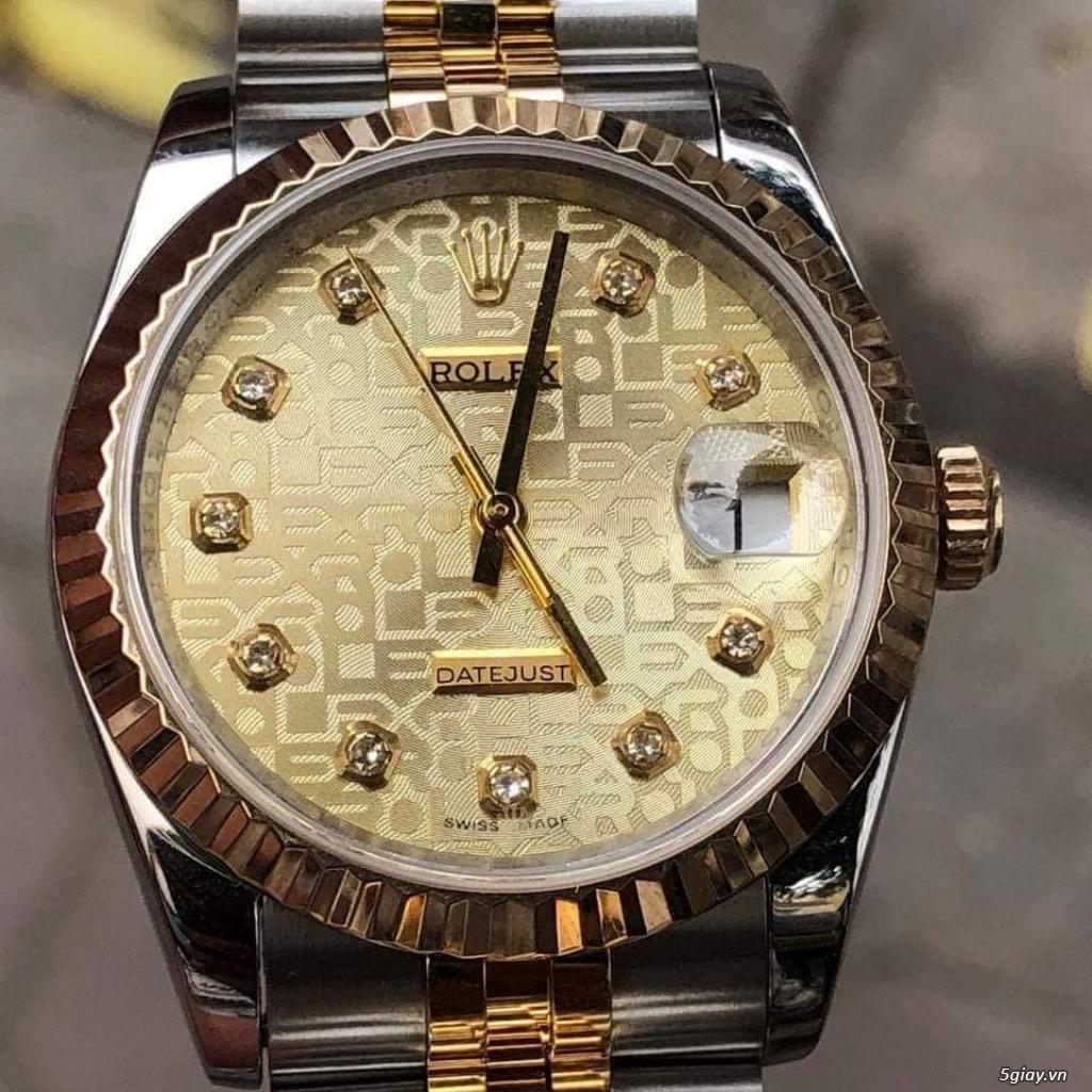 Rolex bọc vàng 18k vàng hồng xà cừ thách thức các thần soi 2019 - 30