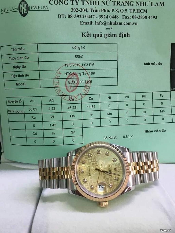 Rolex bọc vàng 18k vàng hồng xà cừ thách thức các thần soi 2019 - 25