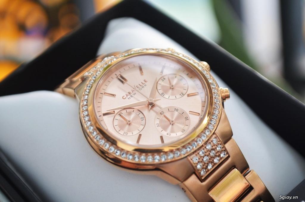 BULOVA CARAVELLE Nữ vàng hồng rất đẹp hàng xách tay Mỹ giá tốt nhất - 2