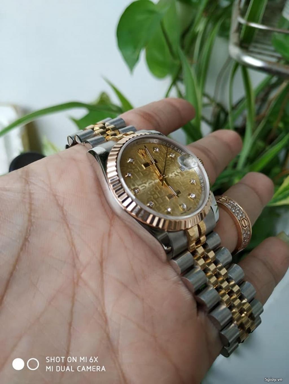 Rolex bọc vàng 18k vàng hồng xà cừ thách thức các thần soi 2019 - 26