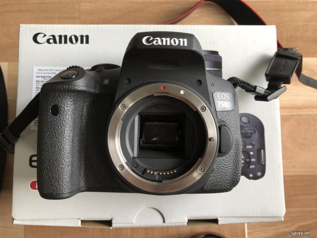 Canon EOS 750D kèm lens kit 18-55 STM chính hãng Lê Bảo Minh - 2