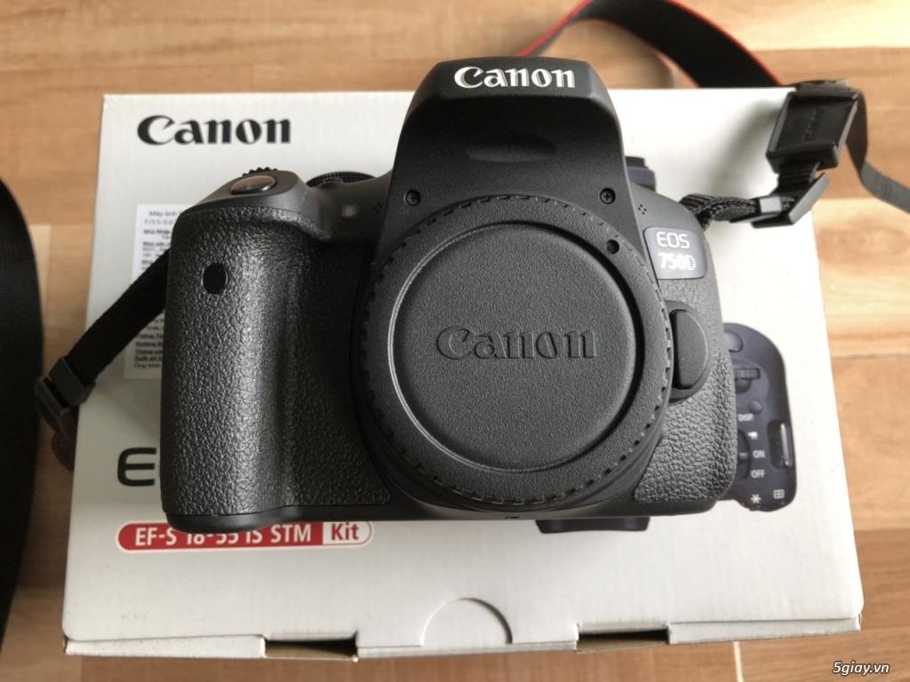 Canon EOS 750D kèm lens kit 18-55 STM chính hãng Lê Bảo Minh - 6
