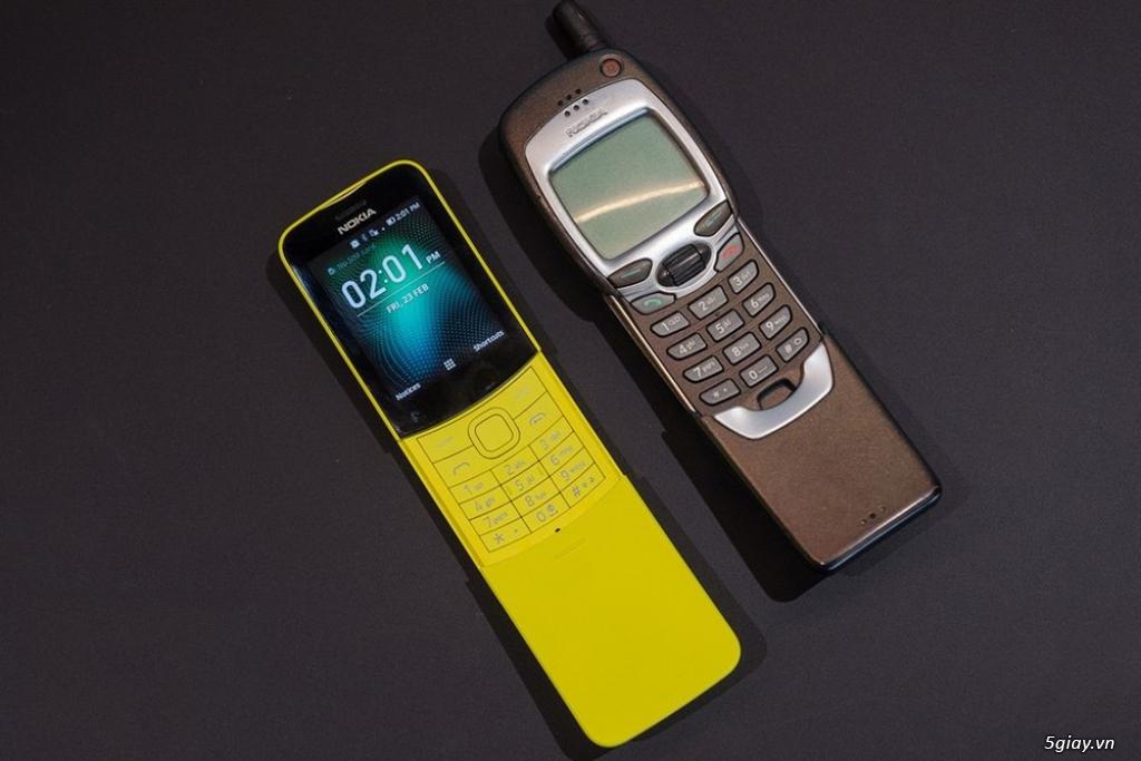 Phát 4G điện Thoại Nokia 8110 4G nguyên seal End 23h: 14/08/19