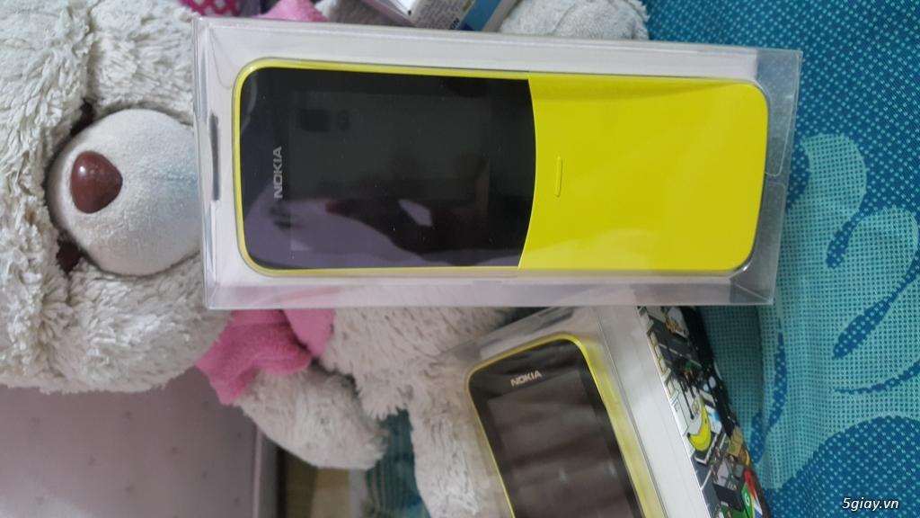 Phát 4G điện Thoại Nokia 8110 4G nguyên seal End 23h: 14/08/19 - 1