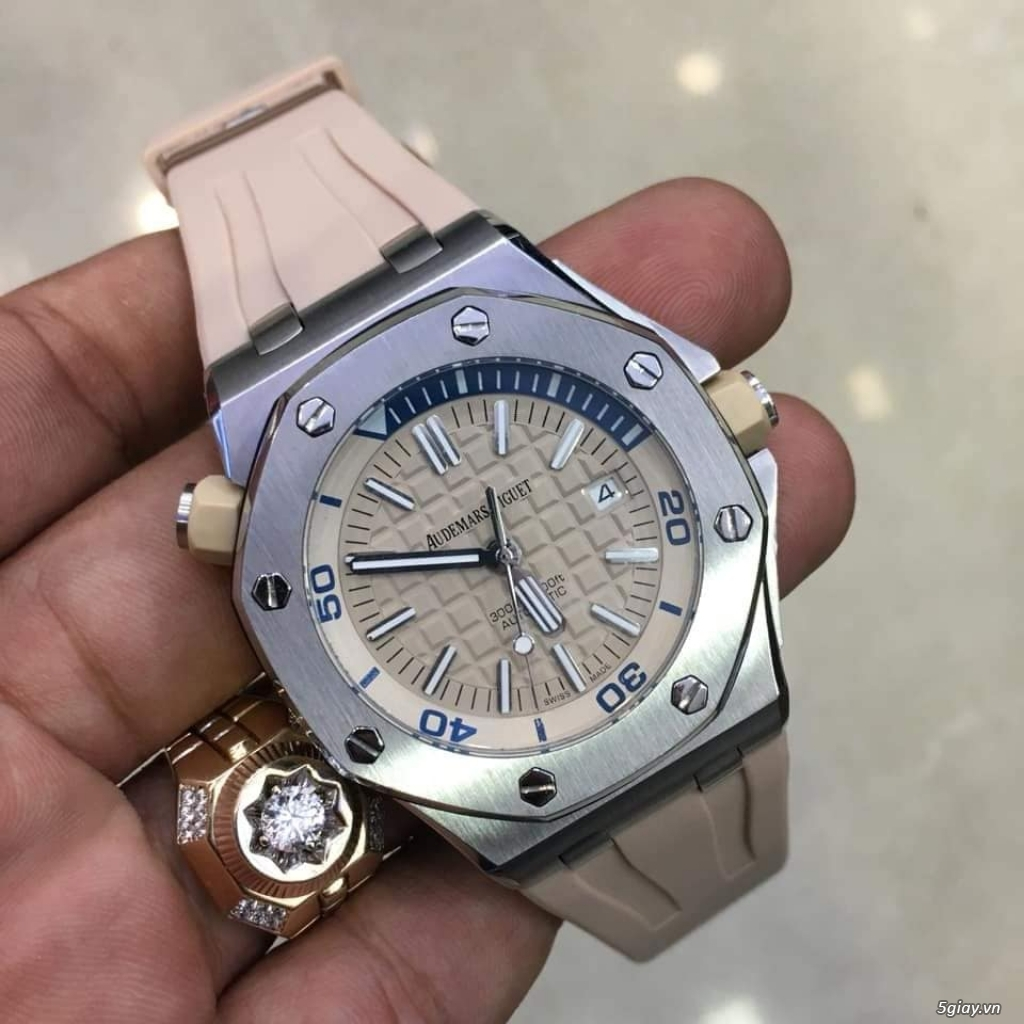 Siêu phẩm Audermard Piaget Silver & pink gold & Blue - 15